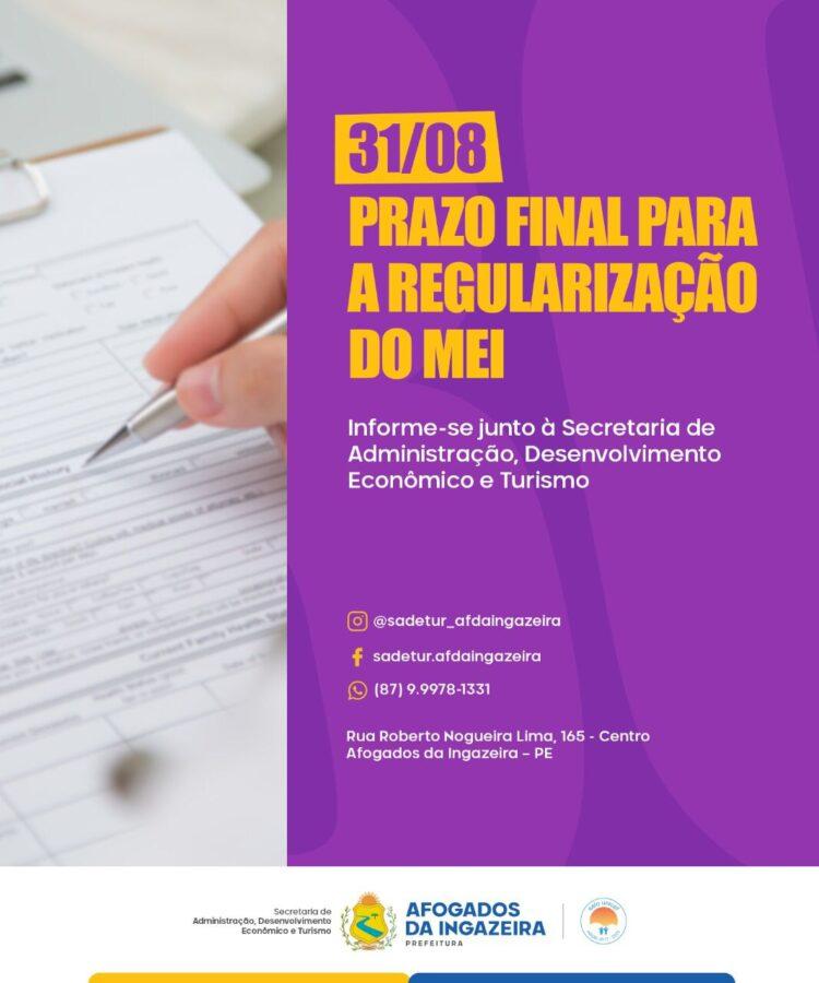 MEI tem até o final de Agosto para regularizar seus débitos junto à Receita Federal
