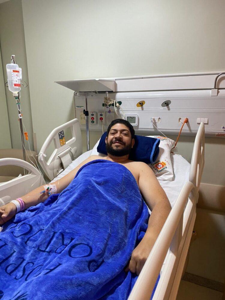 Empresário e comerciante Rogério Júnior, do bloco A Onda, é submetido a cirurgia de urgência